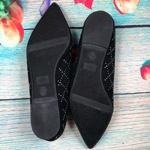 libby. edelman Shoes - Libby Edelman Roscoe Studded Black Flats